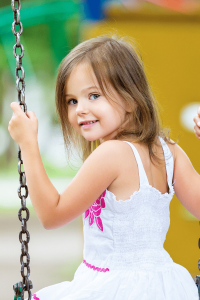 girl on a swing, All The Playgrounds