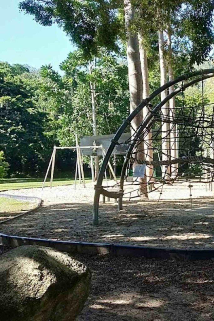 Goomboola Park Climbing Nets