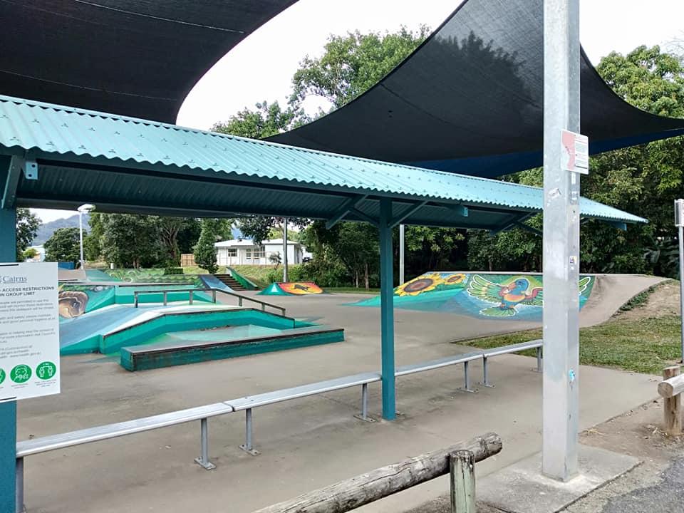 Redlynch skatepark shelter 2