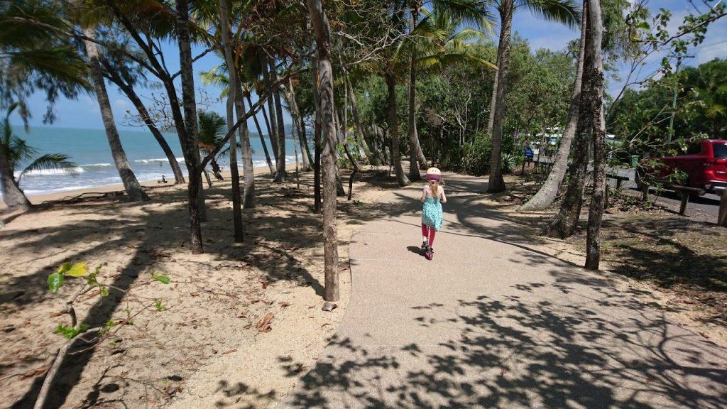 Bike path Clifton Beach