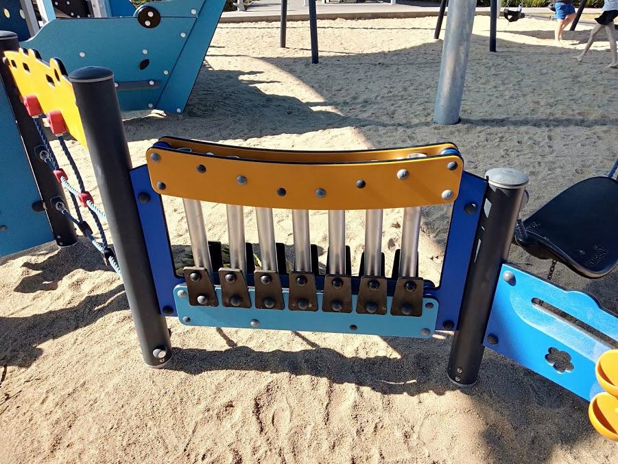 Bluewater musical play equipment