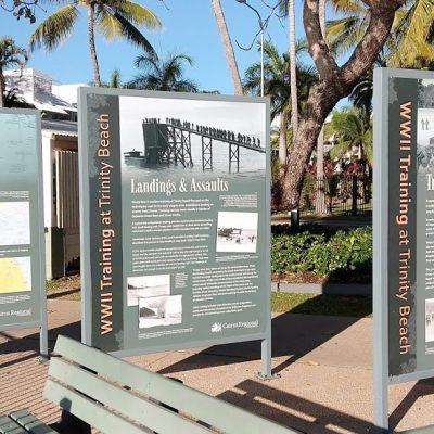 Trinity Beach History Board