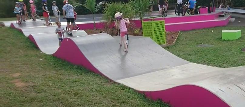 Scooter Trinity Beach Skate Park